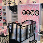 Baby Girl Nursery- Pink and Brown Bliss