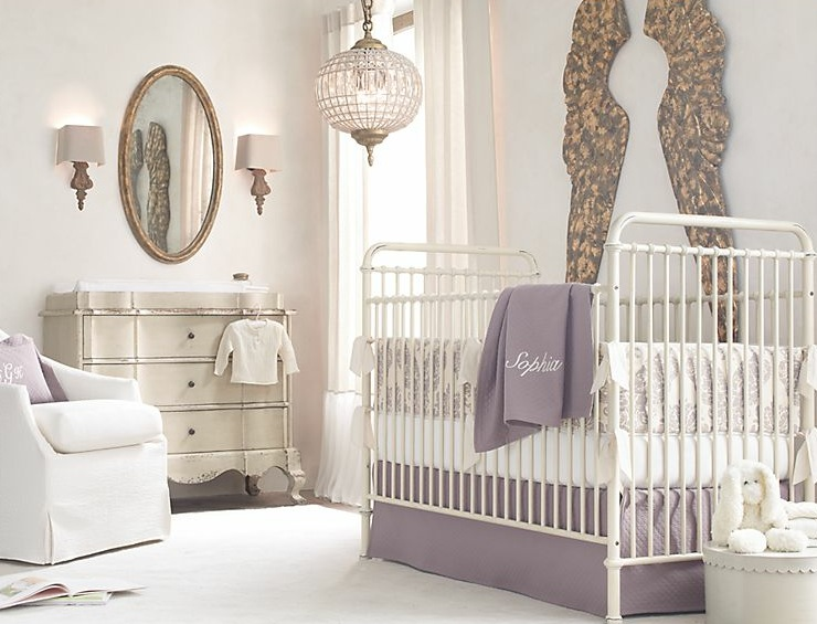soft lavender relaxing baby girl room baby room ideas