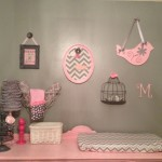 Vintage, Nature Themed, Soft Pink Nursery for Baby Girl