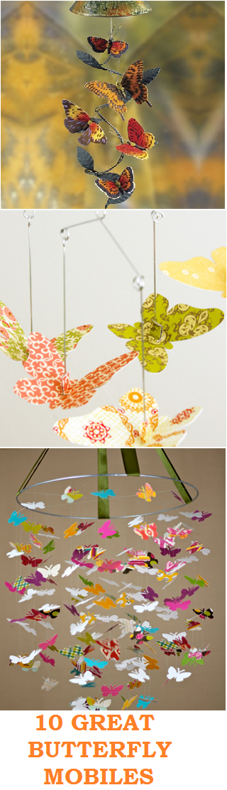10 GREAT BUTTERFLY MOBILES