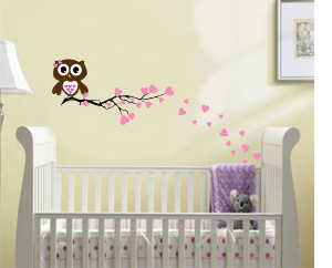home design baby room owl
