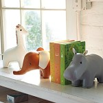 Adorable Animal Book Ends for Baby Room