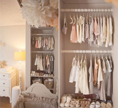 The perfect nursery closet baby room ideas