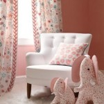 Soft Pink Elephant Baby Girl Room