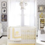 Unisex Baby Room Idea – Grey and Yellow