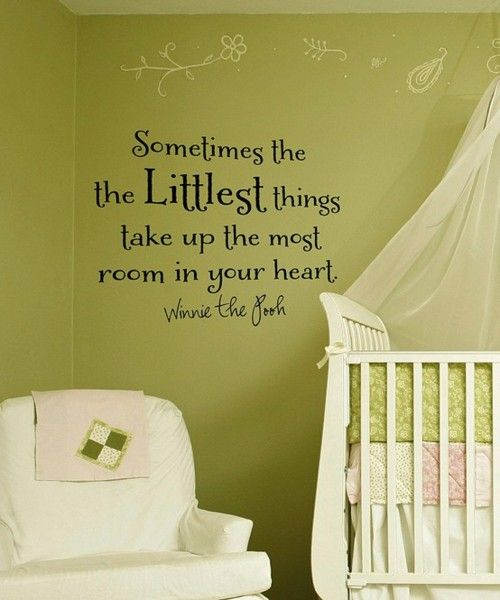 Baby Room Ideas – Wall Quotes! | Baby Room Ideas