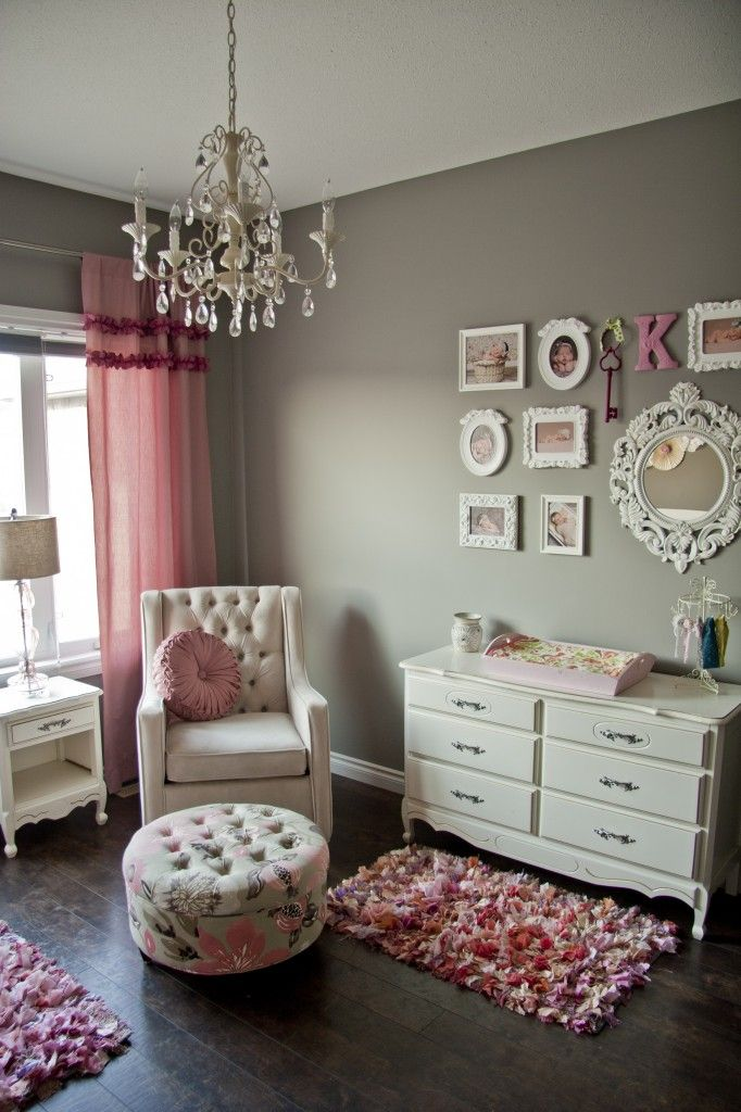Baby girl room ideas plush pink perfection baby room ideas - Baby girl bedroom ideas ...
