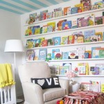 Book Wall Idea For Baby Room