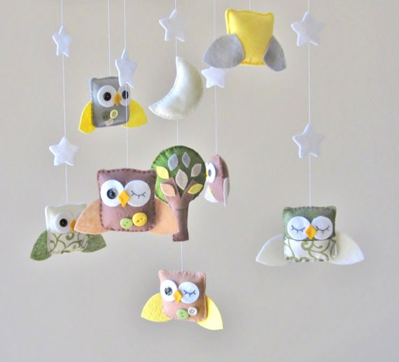 8 Adorable Baby Mobiles For Owl Nursery Baby Room Ideas