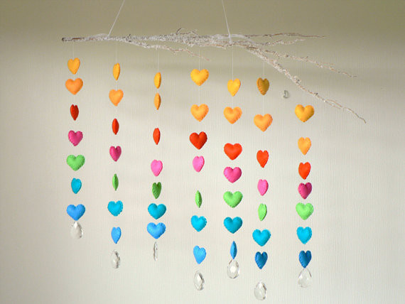 Modern Mobiles For Babies modern colourful baby mobile baby room ideas