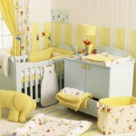 Baby Girl Nursery Idea – Soft Yellow and Beige