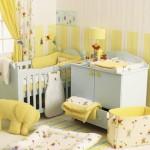Baby Girl Nursery Idea – Soft Yellow and Beige