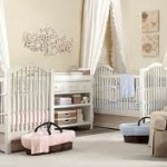 Beige Nursery Ideas – Twins