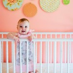 Baby Room Idea – Name or Quote Above Crib