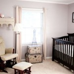 Parisian Inspired Nursery Design
