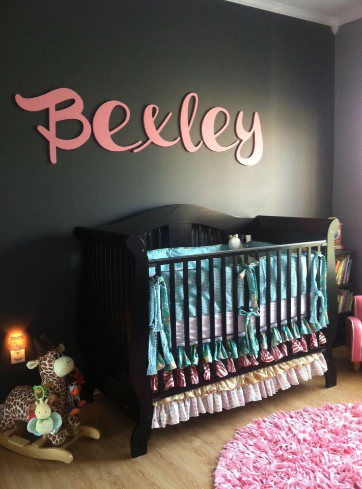 Modern Baby Girl Nursery Ideas