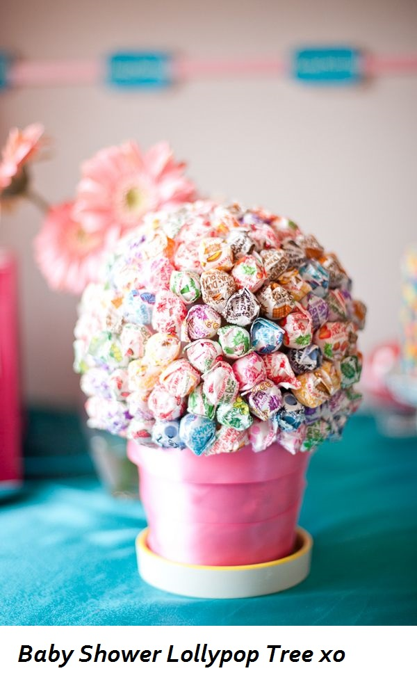 baby shower ideas lollypop