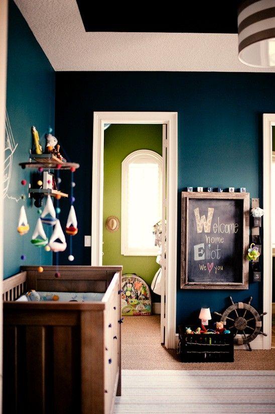 Nautical Baby Boy Nursery Room Ideas: Baby Boy Nursery Ideas – Nautical Theme
