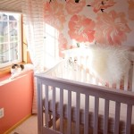 Baby Girl Room Ideas – Painted Peonies