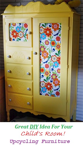 upcycled furniture, baby room ideas