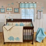 Adorable Elephant Baby Boy Nursery