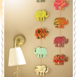DIY Nursery Project – Elephant Wall Hangers