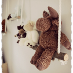Adorable DIY Project for Baby Room Stuffed Animals