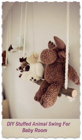 adorable diy project for baby room stuffed animals baby room ideas