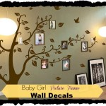 Baby Girl Room Wall Decals