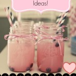 Baby Shower Ideas – Lemonade In Mason Jars