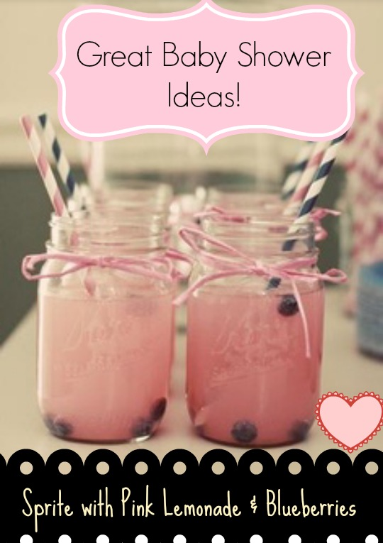 baby shower ideas - themed drinks