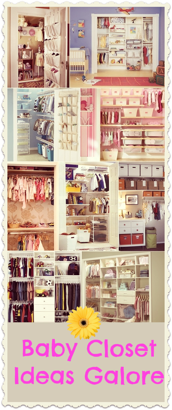 Baby Closet Organizing Ideas - galore1