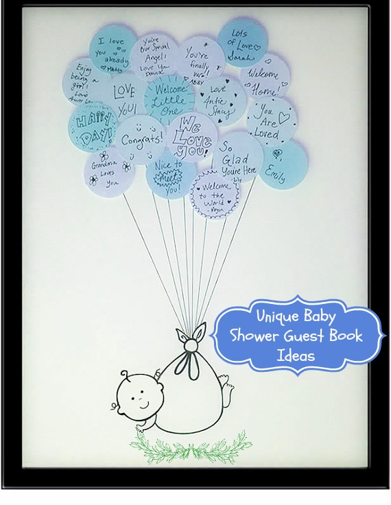 Baby Shower Guest Book Ideas