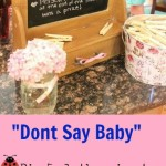 Easy, Fun Baby Shower Game