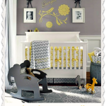 Classic and Modern Nursery – Grey and Yellow