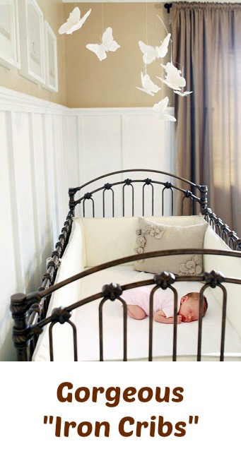 iron crib ideas