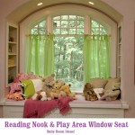 Window Seat In Baby Room