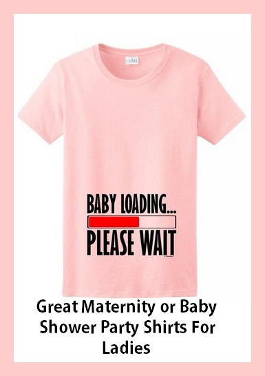adorable baby shower shirts for man and woman baby room ideas