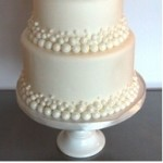 Baby Shower Cakes – Pearls, Bows and Flowers