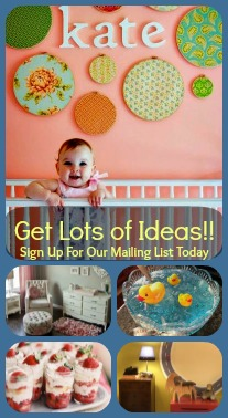 SIGN UP FOR MAILING LIST IDEASBABYROOM.COM