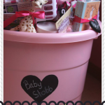 "Baby Shower Gift ""Tub"" Idea"