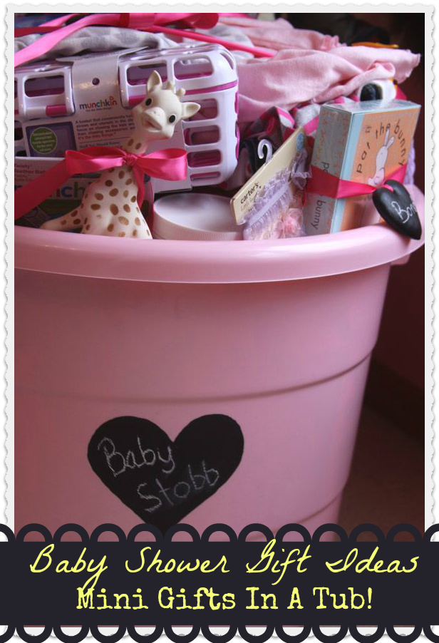 baby shower gift tub idea baby room ideas. Black Bedroom Furniture Sets. Home Design Ideas