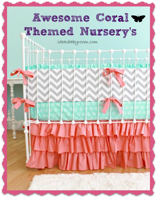 coral themed nursery's