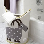 Adorable Laundry Basket For Nursery