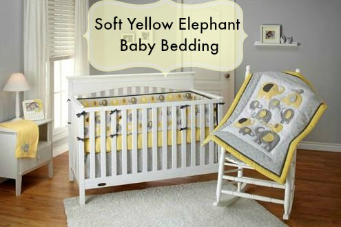 soft yellow baby bedding