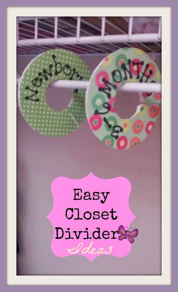 easy closet divider