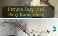 nature inspired baby room
