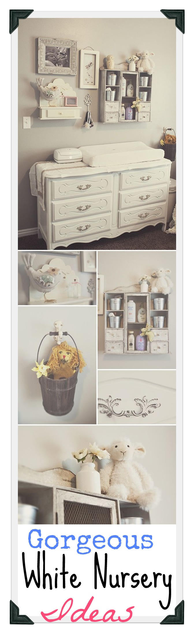 white nursery ideas