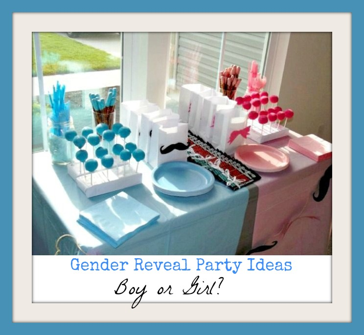 gender reveal baby shower ideas pictures to pin on pinterest