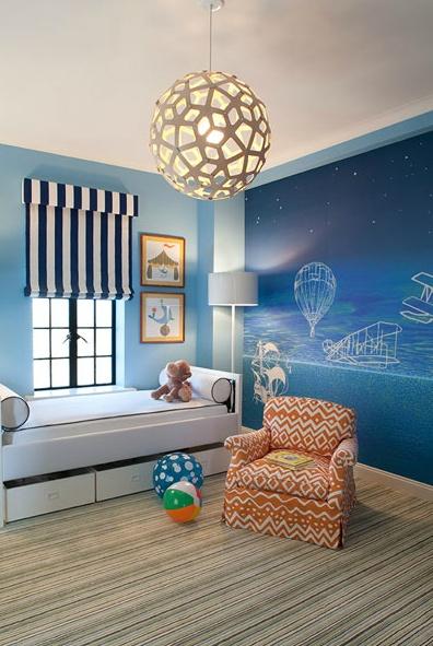 Modern Baby Boy Nursery Room